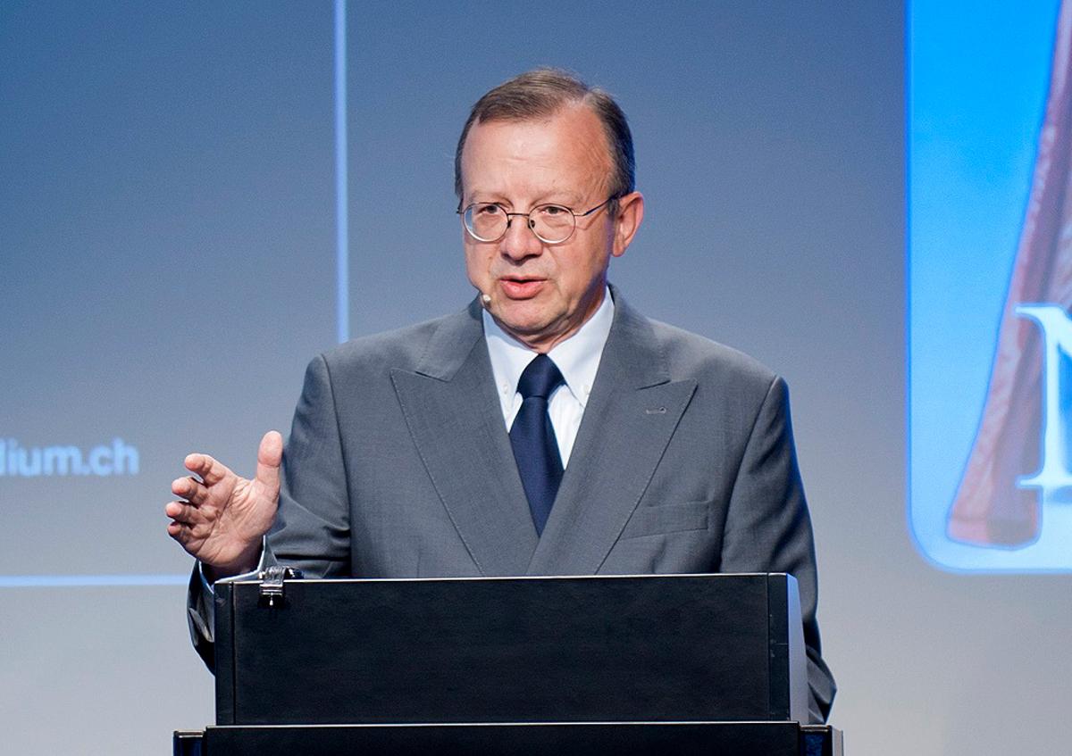 Paul Widmer beim NZZ-Podium «Achtung Schweiz! – Zur Lage der Nation», 22.09.2011.